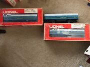 Lionel 6-8363, 6-8364 B And O F-3 A Diesel With Center Car 3 Piece Set