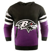 Nfl Ugly Hoody Baltimore Ravens Sweater Pullover Christmas Style Big Logo