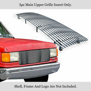 Aps Stainless Chrome Billet Grille Fits 1987-1991 Bronco/f150/f250/f350 Upper