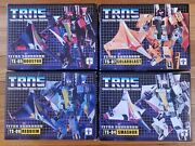 Transformers Impossible Toys 3rd Party Tetra Squadron Lot Of 4 New Seekers