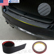 For Bmw X3 G01 2018-19 Black Outer Rear Bumper Protector Plate Trunk Tread Cover