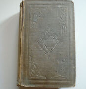 1858 Signed John Fulkerson Rare Antique Book Missionary Travels South Africa