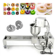 Commercial Doughnut Maker Automatic Donut Maker Making Machine 3 Size Of Molds