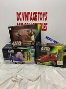 1997 Star Wars Trilogy Edition Jabba The Hutt And Han Solo Cloud Car Cantina
