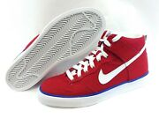 Boys Nike Dunk High Ac 398263 600 France 2010 World Cup Ds Sneakers Shoes