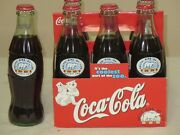 1999 Coca Cola Artic Ring Of Life 6 Pack Bottles Never Opened Detroit Zoo