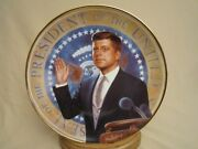The Torch Is Passed Jfk Collector Plate President John F Kennedy Max Ginsburg