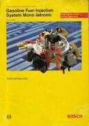 Gasoline Fuel-injection System Mono-jetronic Bosch Technical Manual Bph105