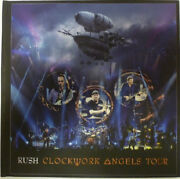 Rush – Clockwork Angels Tour Limited Deluxe Edition Zoë Records rare New