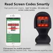 Automatic 2d Barcode Scanner Omnidirectional Hands-free Usb Qr Bar Code Reader