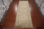 Oushak Gallery Runner 6x18 Turkish Vegand039 Dyed Antiqued Hand-knotted Oriental Rug