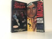Vintage 80smaking Michael Jackson Thriller Vhs 1983 And The Legend Continues Vhs