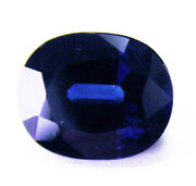 4.15ct Sapphire Natural Blue Colour -expertly Faceted In Germany+cert Included