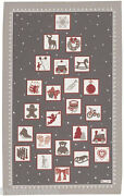 Beauville French Dish Towel Christmas Tree/angel/drum/bike/heart/toy/wreath+gift
