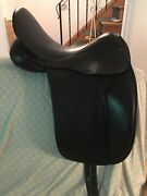 County Perfection Cc 4.5 Saddle Andnbsp- Beautiful Condition 17.5 Narrow Tree Blk