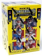 2018 Panini Contenders Football 40ct Blaster 20 Box Case Blowout Cards