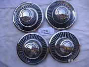 Chevrolet Motor Division Center Hubcaps 1968 - 1992 Very Good My0791band039