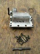 1939 Harley Davidson Knucklehead Transmission Top Gear Selector Cover Date L8
