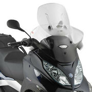 Af5601 Givi Windscreen Sliding For Piaggio Mp3 300ie Sport/business 2015 2016
