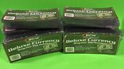 500 Regular Bill Deluxe Currency Holderssemi-rigid Holds U.s. And Other Currency
