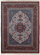 Rra 9x12 Kashan Design Chinese Ivory And Rust Rug 19345