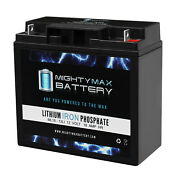 Mighty Max 12v 18ah Lithium Replacement Battery For Wagan 2412 900a