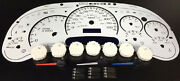 Chevy Gmc Truck Overlay White Face 7 Gauge Cluster Upgrade Kit 03 04 05