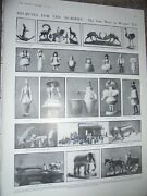 Printed Photos Sutter And Barweg German Wooden Toys At Baillie Gallery 1910