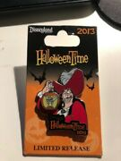 Disney Trading Pins /disney Dlr Pin Halloween Time 2013 Captain Hook And Tinker