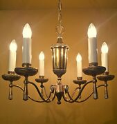 Vintage Lighting 1960 Mid Century High Quality Chandelier By Lightolier