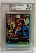 James Best Signed Autograph Slabbed Bas Beckett Roscoe With Flash Dukes