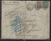 Griquiland West P2810b 1/-+cae 3d On 1881 Cover German Consulat