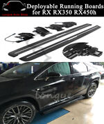 Fits Lexus Rx Rx350 Rx450h Rx270 2009-2015 Deployable Running Board Side Step