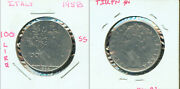 World Coins - Italy 1958 100 Lire  2g221 Tough Date