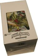 Power Rangers Action Card Game Legends Unite Blister Booster Box