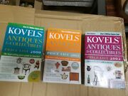 Kovels Price Guide 2000-2002 Antiques And Collectibles Books Lot