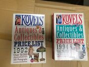 Kovels Price Guide 1982 And 1994 Antiques And Collectibles Books Lot Set Of 2