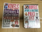 Kovels Price Guide 1996 And 1997 Antiques And Collectibles Books Lot Set Of 2