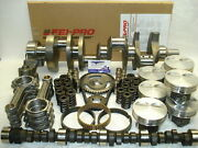 383 Stroker Engine Kit, Balanced, Cam And Lifters 2pc Rear Seal, 4.030 Bore Size