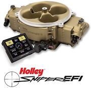 Holley Sniper Efi 550-843 Fuel Injection System Stealth 4500 Gold 800-1500hp