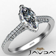 Circa Halo Marquise Diamond Engagement Ring Gia G Color And Vvs2 Clarity 1.1 Ctw