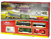 Ho Scale Complete Railroad Train Set Bachmann Thunder Chief Dcc And Sound Equipped