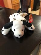 Ty Beanie Baby Dotty Style 4100 From 1996 Retired With Tags