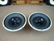 Matching Set Of Altec Lansing 615a Duplex Speakers / Tested