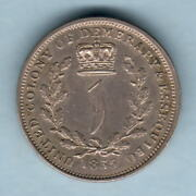 Essequibo And Demerary. 1835 1 Guilder.. Part Lustre - Ef