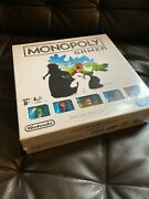 Chess And Monopoly Games Collector's Edition 2 Board Game Mario - New