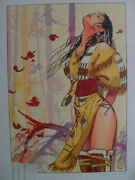 Milo Manara Signed And Numbered Ltd Edition Lithograph Sealed Rare Htf Bd