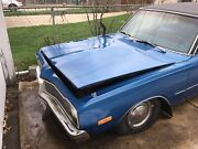 1973 Dodge Dart Custom 4 Doorframe Rusted Out Good For Parts