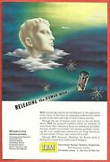 1949 Ad Ibm International Business Machines Electron Tube, Releasing The Mind