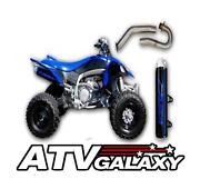 Dasa Exhaust Pipe Full System Yamaha Yfz450 450 Classic Silver All Years